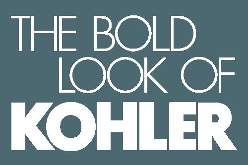 kohler logo in white